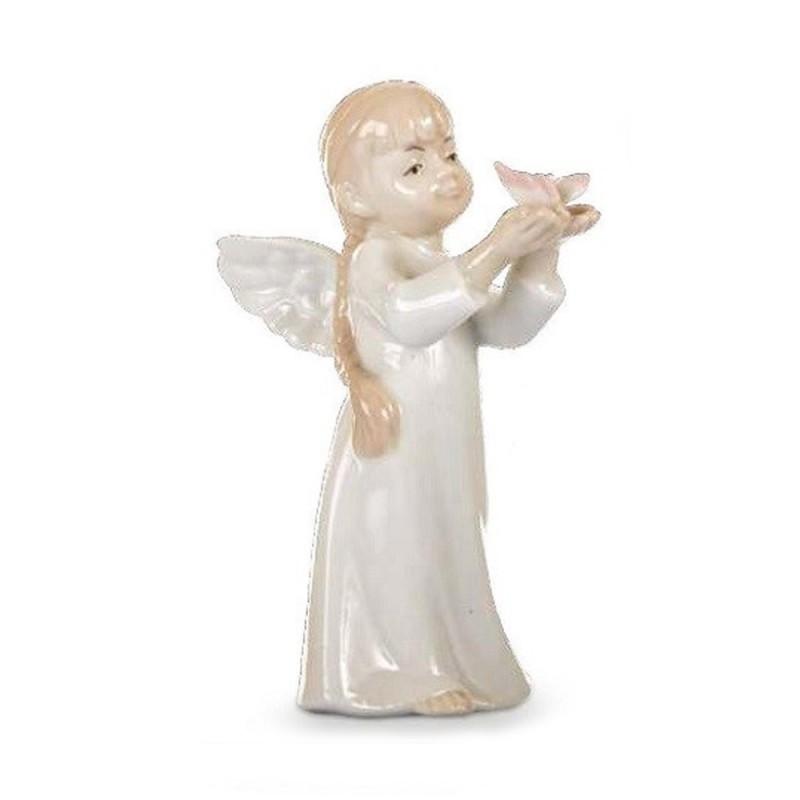 Morena bimba angelo con farfalla - D7714
