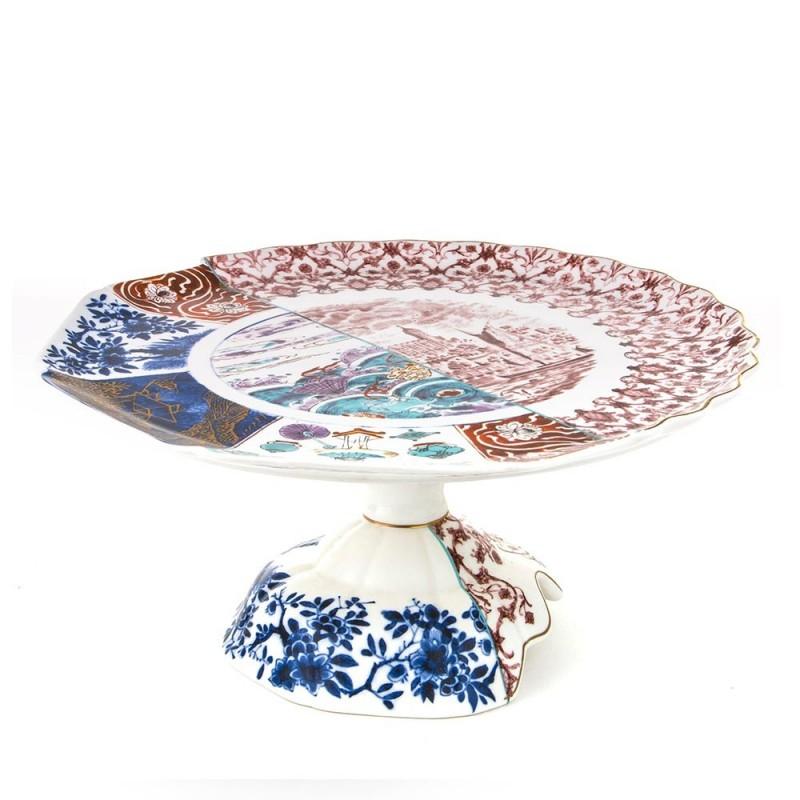 Seletti alzata in porcellana Hybrid Moriana cod. 09767
