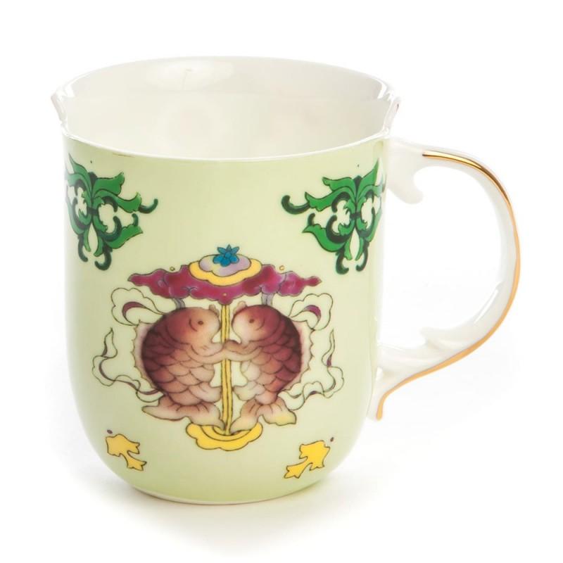 Seletti tazza mug in porcellana Hybrid Anastasia 09751