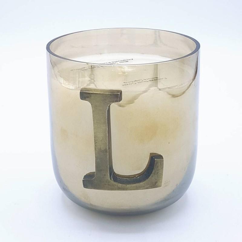 "Livellara Letter Candle ""L"""