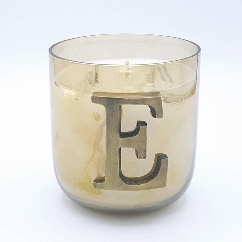 """Livellara Letter Candle """"E"""""""