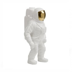 Seletti - vaso in porcellana astronauta cosmic diner starman