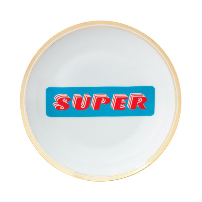 Bitossi home - piatto super 17cm