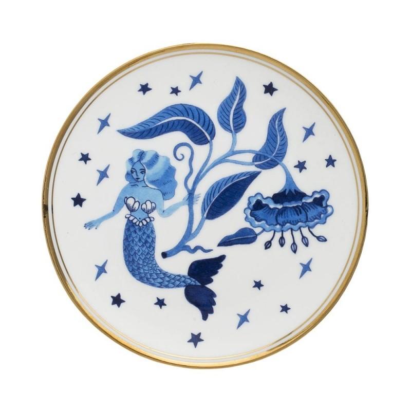 Bitossi home - piatto sirena 15,5cm