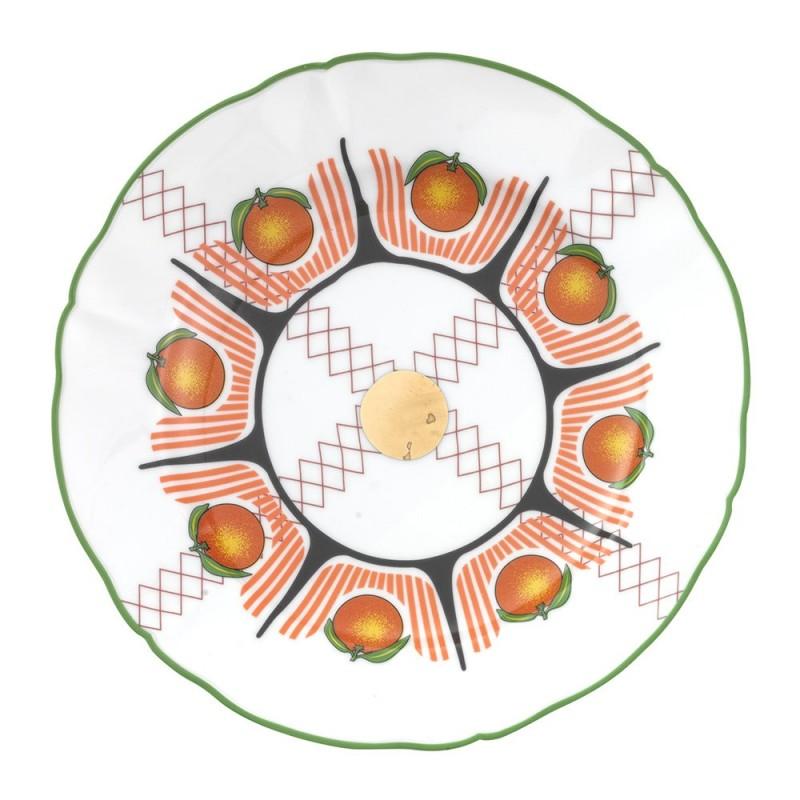 Bitossi Home - piatto bel paese arance 20,5cm