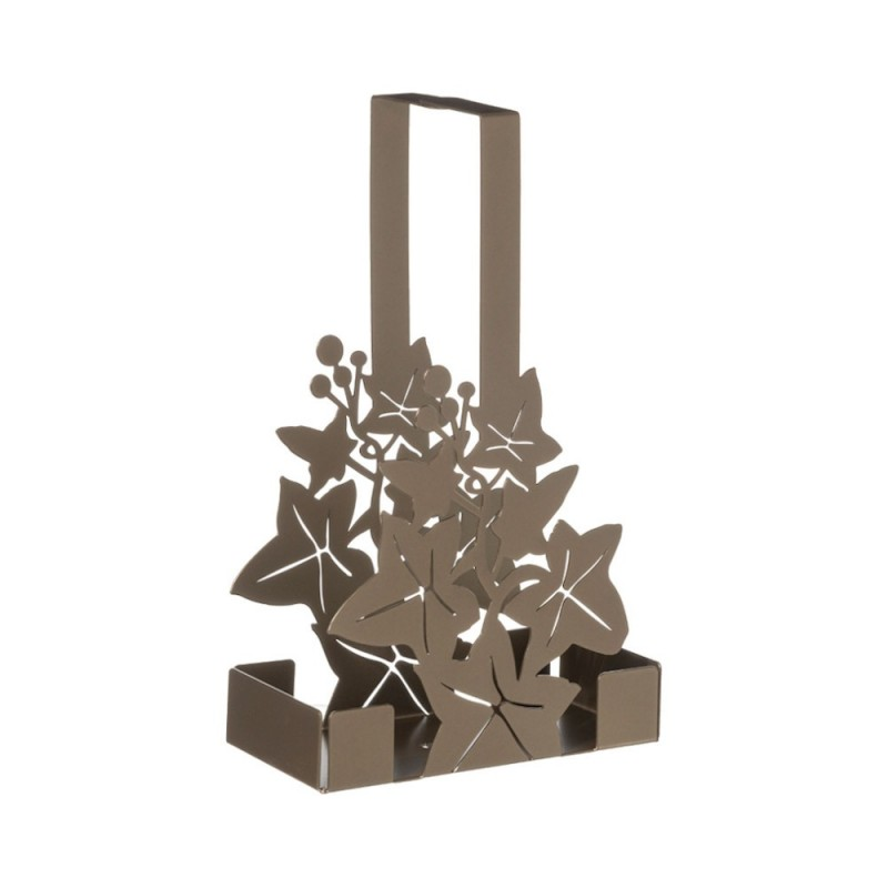 Arti e Mestieri - Porta bicchieri Edera bronzo