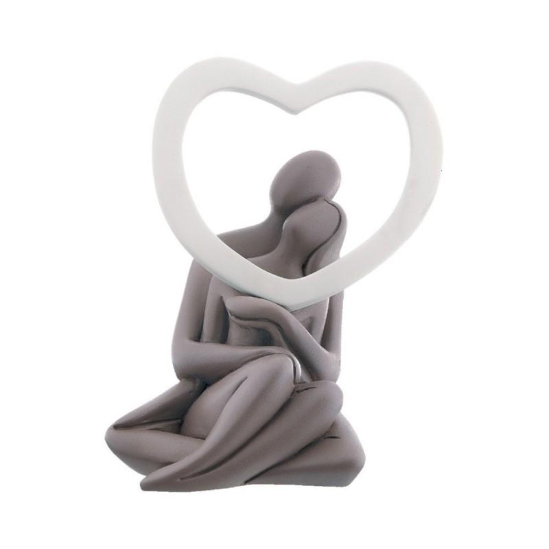 Bongelli Preziosi - statuina con innamorati e cuore infinity
