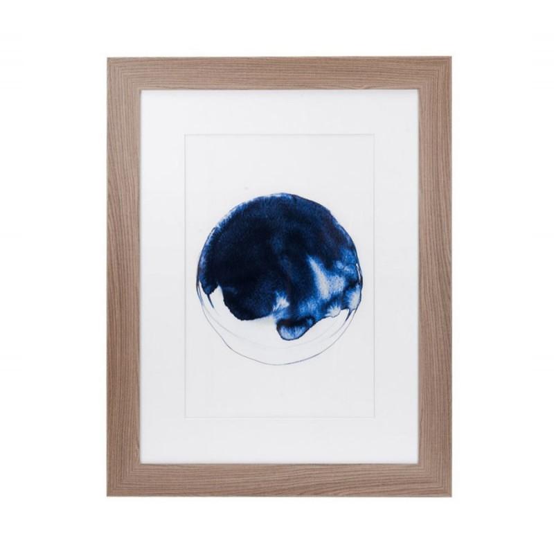 L'Oca Nera - Quadro con cornice stampa serigrafica 73x93 cm