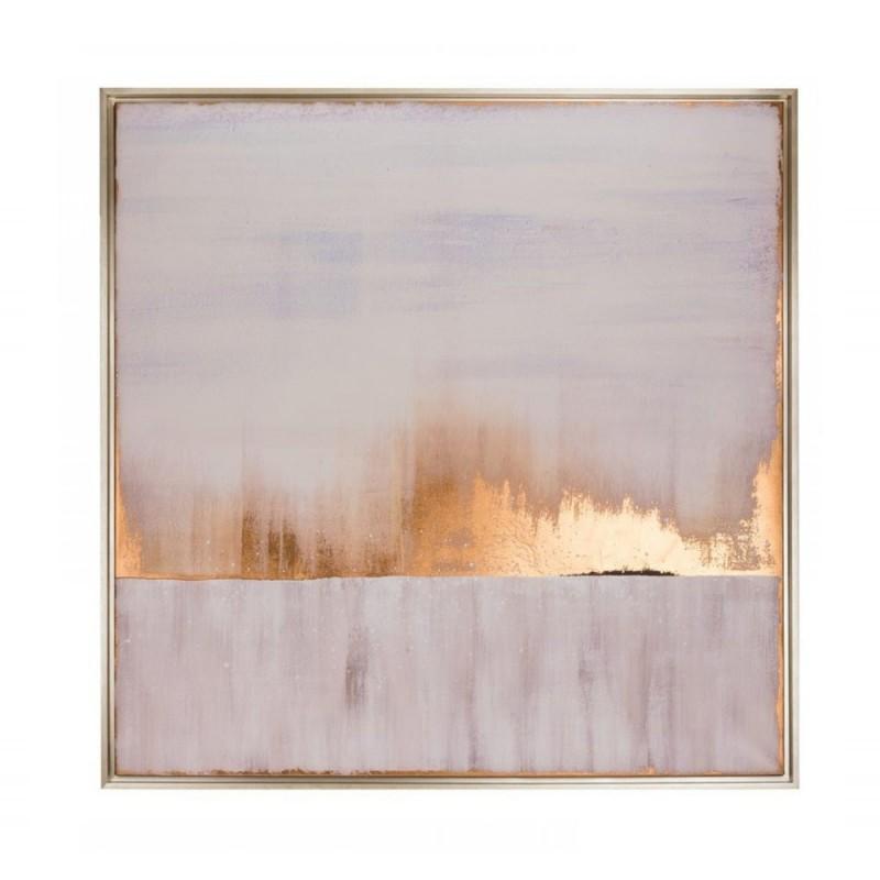 L'Oca Nera - quadro con cornice stampa serigrafica 100x100 cm