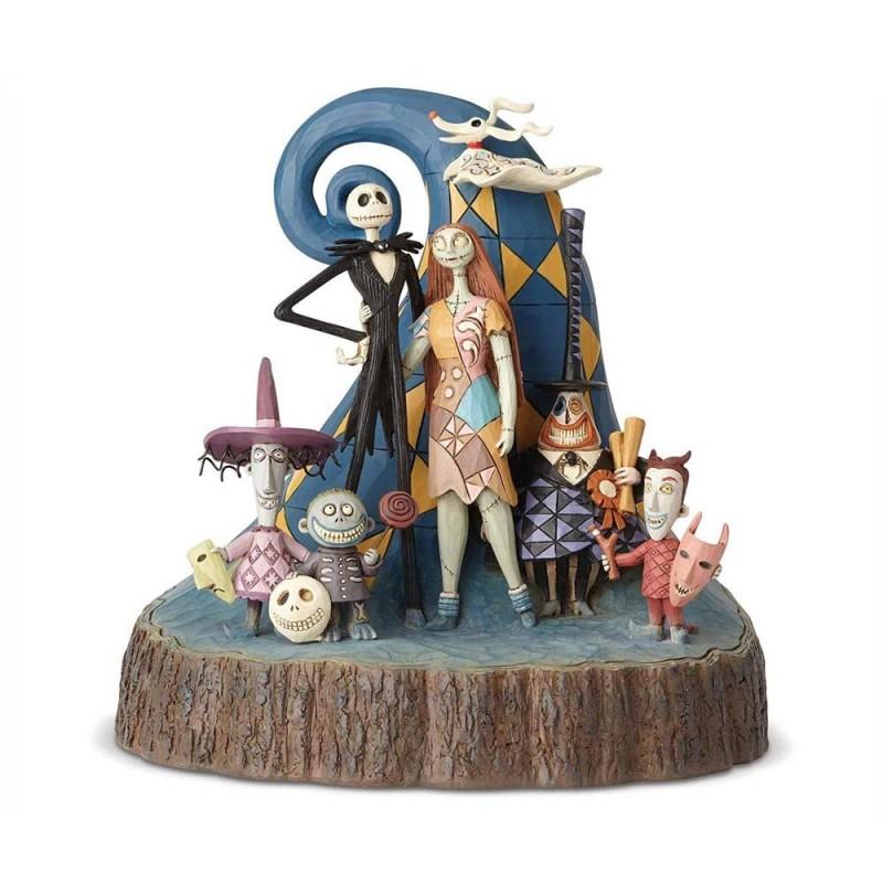 Disney Traditions - statuina Nightmare before christmas