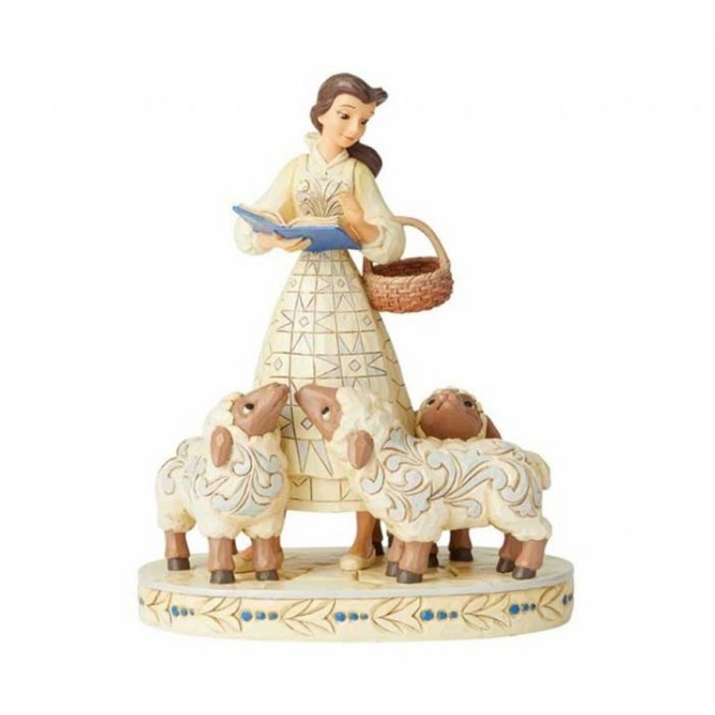Disney Traditions - statuina Belle white woodland