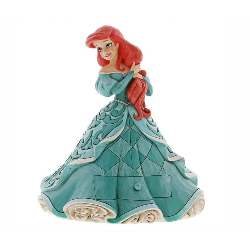 Disney Traditions - statuina Ariel custode di tesori