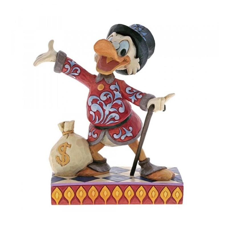 Disney Traditions - Zio Paperone con sacca di dollari