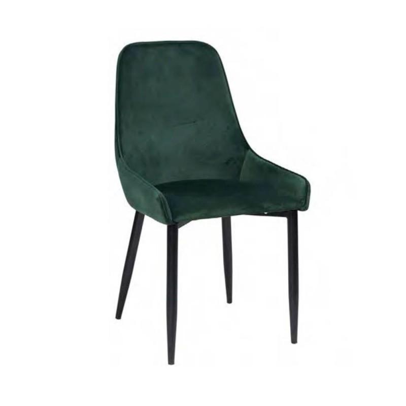 Novità Home - Sedia in velluto verde