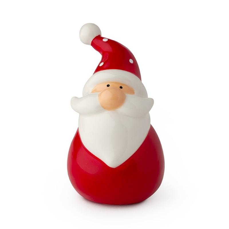Hervit - Babbo Natale rosso in porcellana