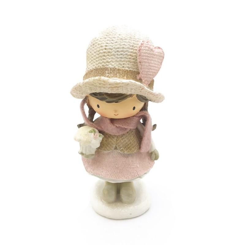 Paben - Statuina bambina con cupcake