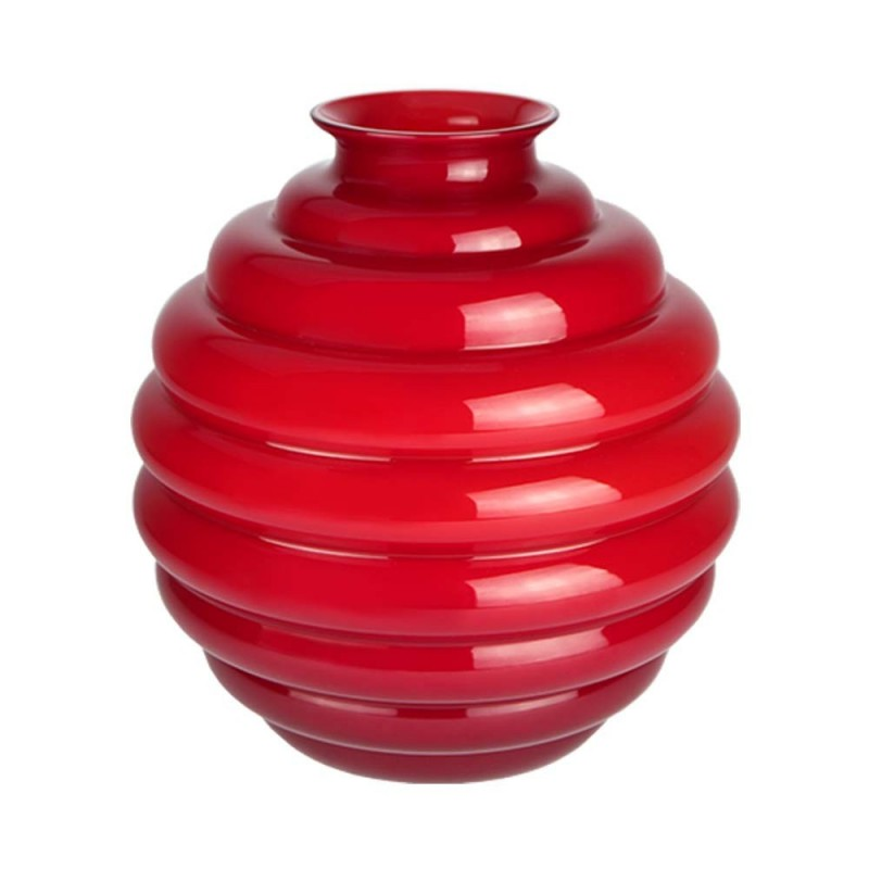 Venini vaso Decò rosso...