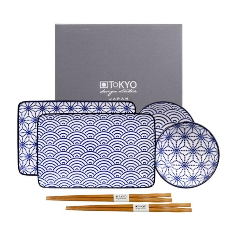Tokyo Design studio - Sushi set nippon blue