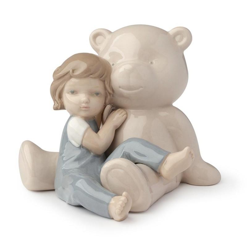 Hervit orso beige con bimbo...