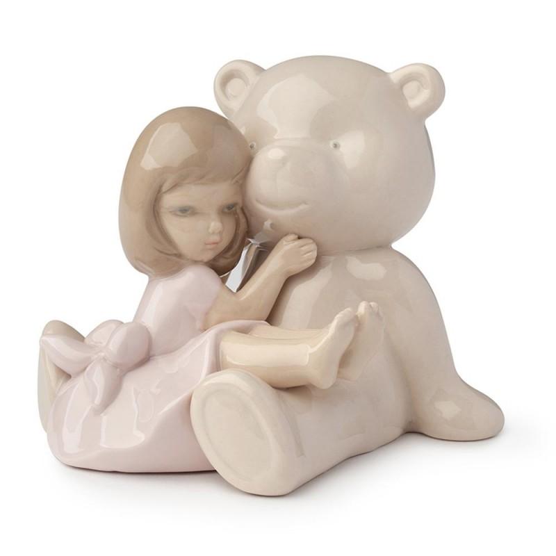 Hervit orso beige con bimba...