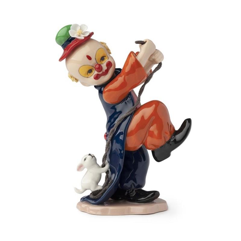Hervit clown con cagnolino...