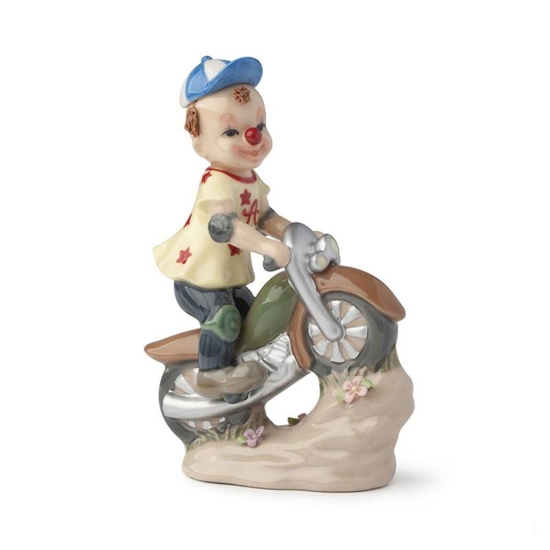 Hervit clown motociclista...