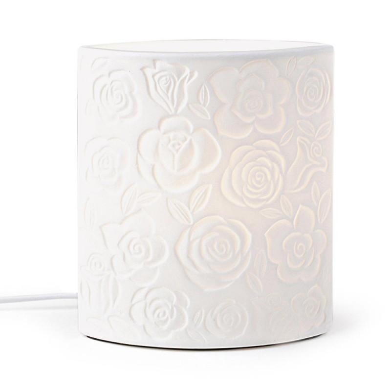 Lampada in porcellana Rose...