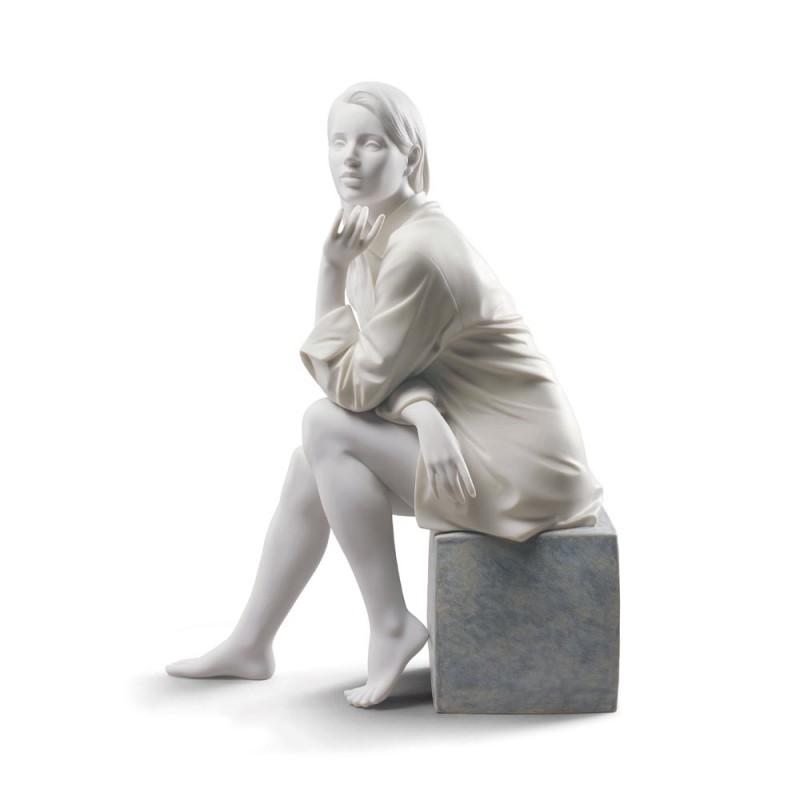 Statua donna Un Momento di...