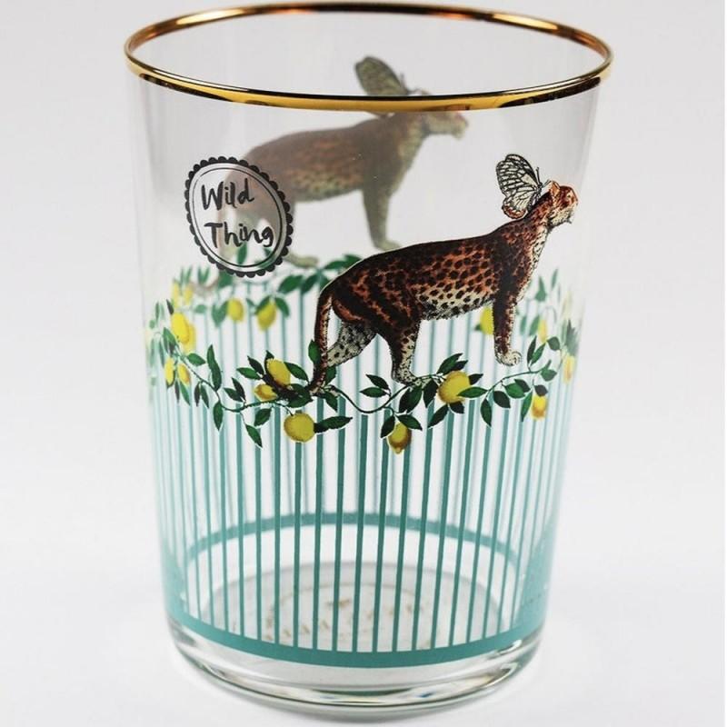 Bicchiere bibita Animal -...