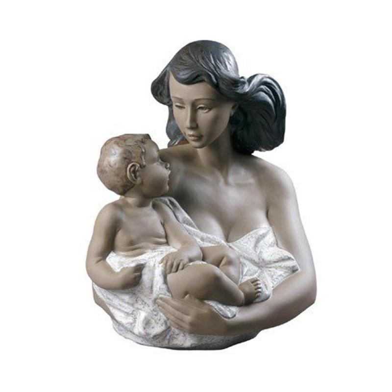 Statua mamma e figlio Che...