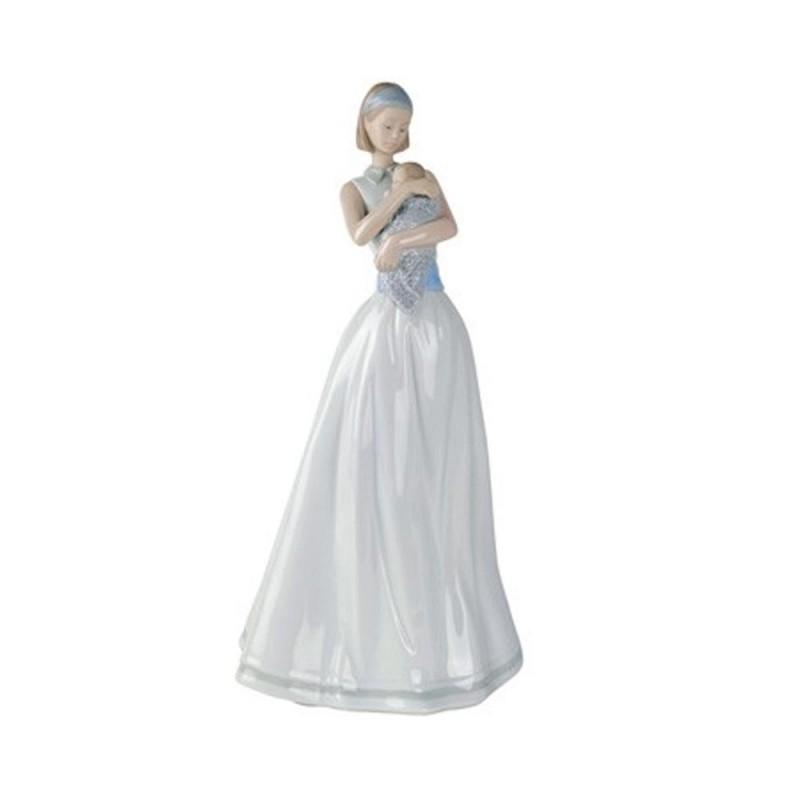 Statua mamma e bimbo Luce...