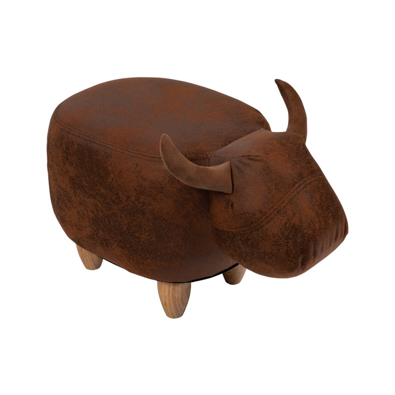 Pouf Toro Bull in ecopelle