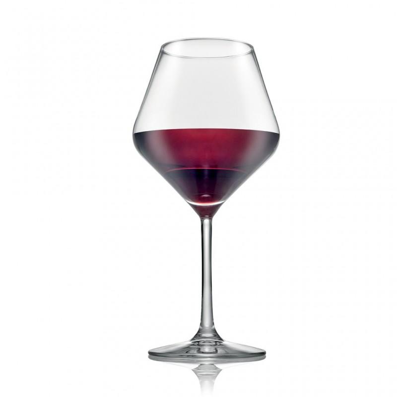 IVV - Set 6 calici vino rosso Tasting Hour trasparenti
