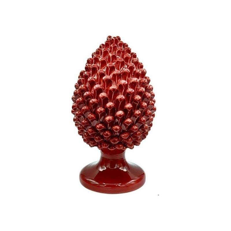 P016/20-Verus Ceramiche pigna bordeaux H20cm Candida Celiento