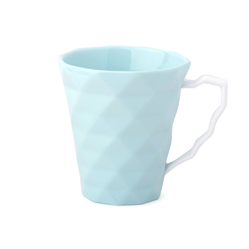 Hervit Creations - Set 2 tazze mug in porcellana acqua