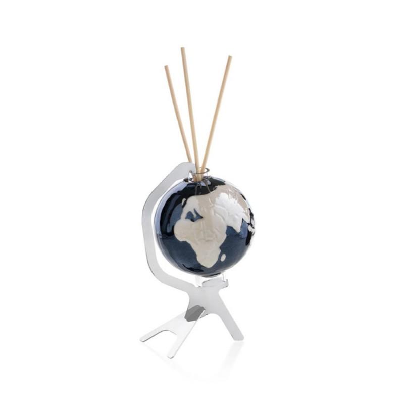 Candida Celiento - Emò Italia, profumatore ambiente Le Globe Shining nero piccolo