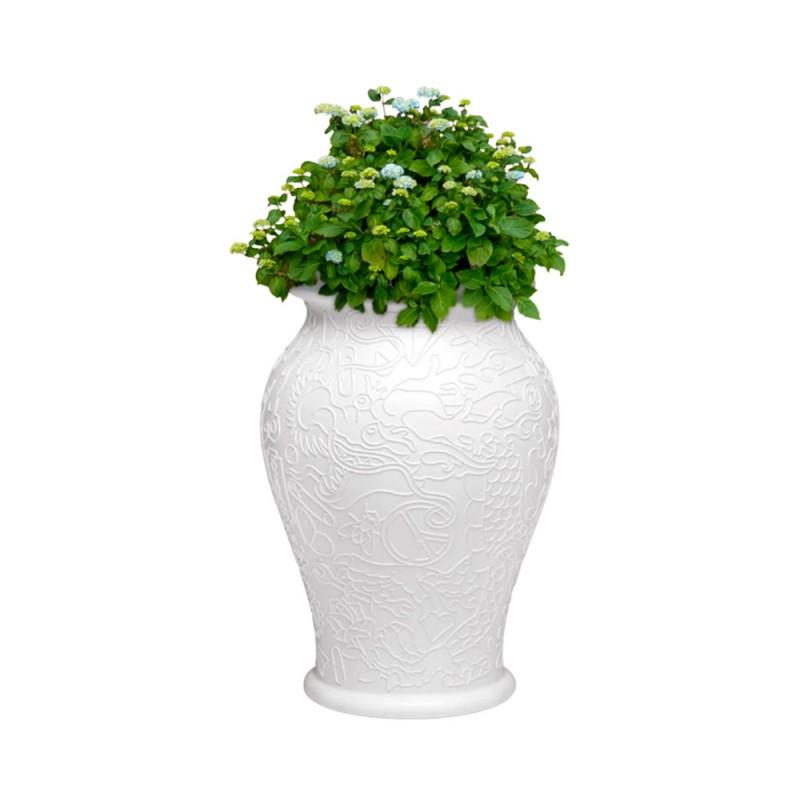 Qeeboo vaso Ming bianco per...