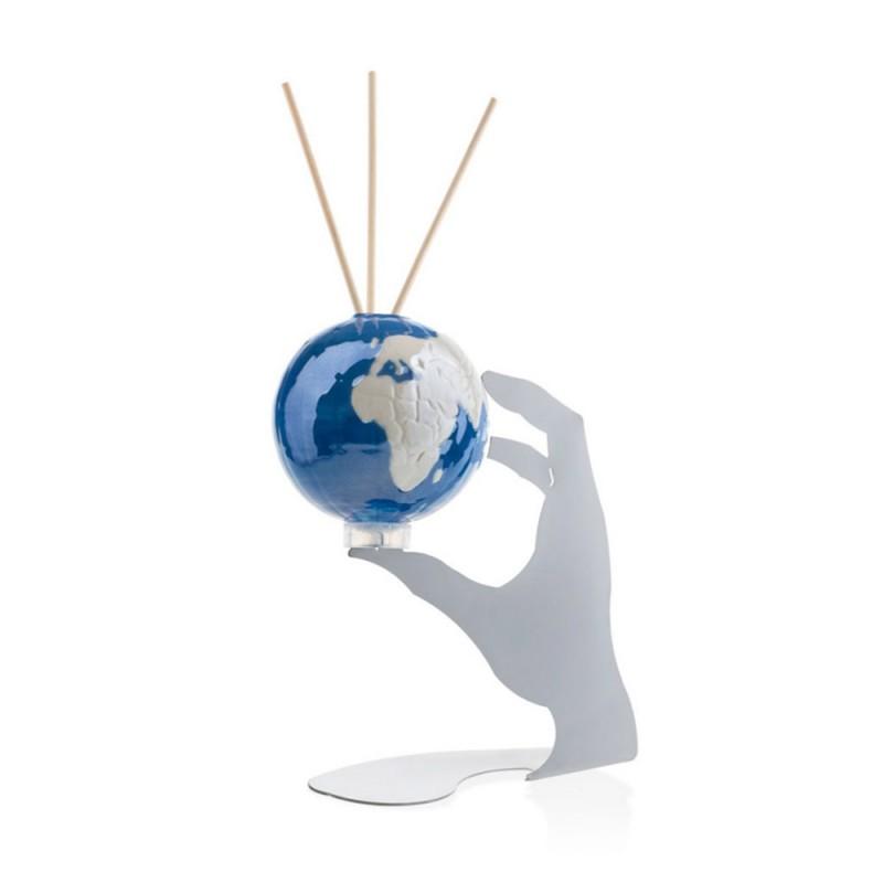 Candida Celiento - Emò Italia, profumatore ambiente Le Globe Reveurs blu medio