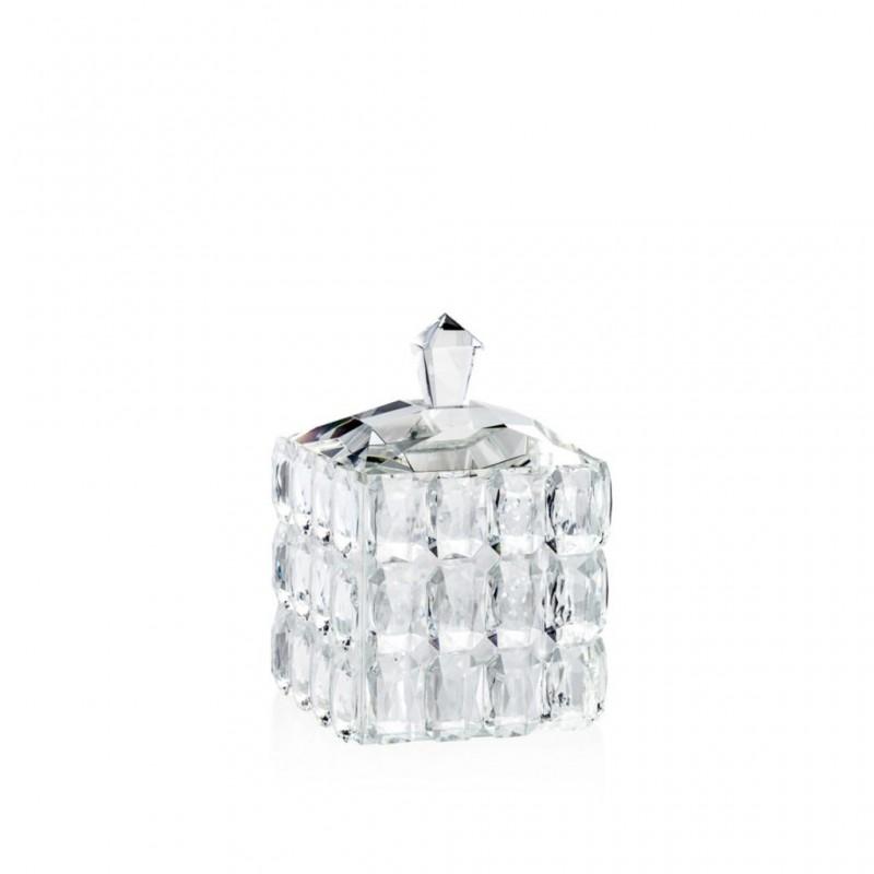 Candida Celiento - Emò Italia, scatola cubo in cristallo 9x13cm